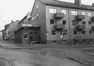 Antes korvbar på 1970-talet.En rockhistorisk plats.Arkivbild.