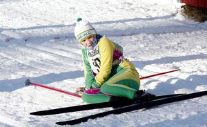 Bilden är från 2009 och Husumskidan. Sebastian var även framgångsrik i längdskidåkning. Då åkte han för Graninge-Alliansen.