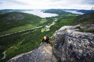 Skuleberget bjuder på en vidunderlig utsikt.