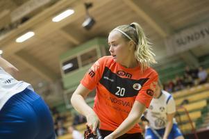 Alma Sundwall stod för två mål och två assist mot Kågedalen.