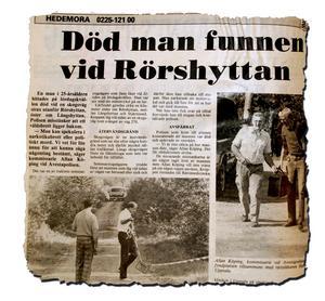 En artikel i tidningen vid tidpunkten för när Yenon Levi hittades mördad.