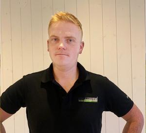 Foto: Guldgalan. Pontus Nilsson är nominerad till priset för Årets tillväxtföretag.