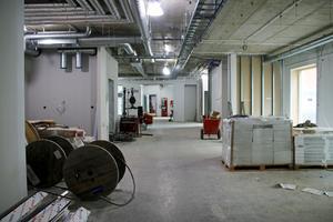 I de här lokalerna kommer dagliga verksamheten Rondellen att hålla till. Utrymmet till vänster ska användas till Rondellens kiosk.