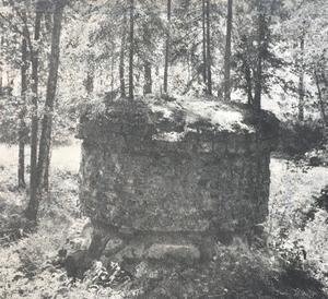 Denna ruin vittnar om den verksamhet som en gång bedrevs på den här platsen.