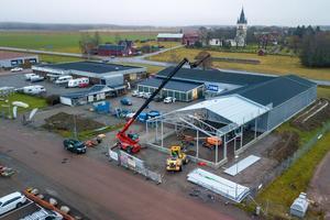 Just nu pågår Jysks utbyggnad på Fridhemsgatan i Sala. Butiken kommer ha en nyöppning vid månadsskiftet februari/mars nästa år.
