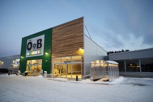 Totalt blir butiksytan cirka 1500 kvadratmeter och trädgårdsmarknaden ungefär 1000 kvadratmeter.