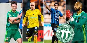 Kan några av dessa spelare bli aktuella för VSK under silly season? Foto: Bildbyrån