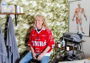 Hon har kamperat med Timrå IK sedan 1990, och varit med om både toppar och dalar.