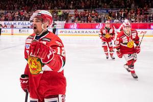 Kevin Gagné spelar mest av alla Moras backar. Foto: Daniel Eriksson / BILDBYRÅN