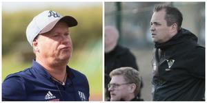 Peter Svensk, Rengsjö SK, och Magnus Jonsson, Bollnäs GIF, är redo för de sista striderna för säsongen.