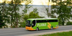 Flixbus startar en ny linje mellan Stockholm och Göteborg, med stopp i Arboga. Foto: Flixbus.