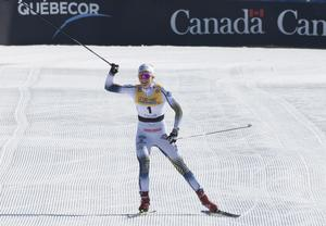 Stina Nilsson i Quebec i mars.