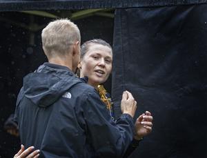 Zara Lundgren vann maraton på 4,2 kilometer.