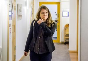Kammaråklagare Marlene Forsman tycker att den första rättegångsdagen har flutit på bra