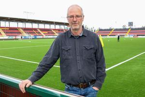 Lasse Landin känner obehag och frustration över det som pågår med ÖFK:s klubbordförande just nu.