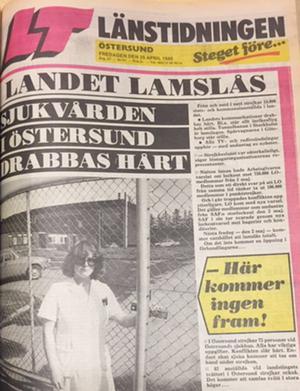 Storstrejk inleddes den 25 april 1980.
