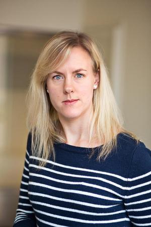 Anna Frenzel, utredare på enheten för statistiska utredningar. Fotograf: Lieselotte van der Meijs/Brå
