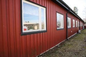 Sjöströms hemservice lokal i Uthamnen. Hit kallades bolagets anställda på fredagseftermiddagen för information.