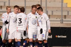 Jönköpings Södra förlorade med 1-2 mot Degerfors i lördagens superettamöte. Bilden är en arkivbild.