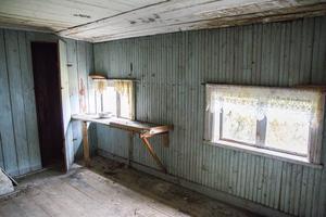 Paret är osäkra på hur alla rum tidigare använts, men detta dror de kan ha varit en pigkammare.