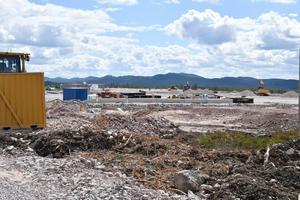 Flygplatsbygget är igång, här är det terminalen som ska byggas