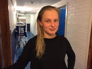 Hanna Lindqvist står på sju mål hittills. I helgen blev hon, precis som de flesta lagkamraterna, mållös.