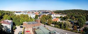 Vy över Södertälje. Arkivbild. Foto: Magnus Grimstedt