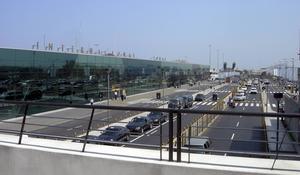 Flygplatsen i Lima, Peru.