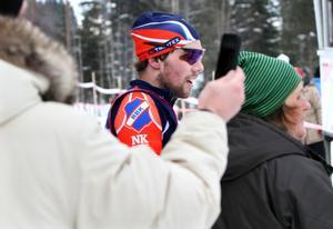 Tom Ankerstål – nöjd tvåa i Harsa Ski Marathon.