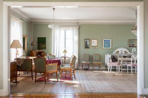 Stora rummet i vinkel.  Foto: Utsikten Foto