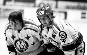 Stefan Lunner och Dan Söderström. Foto: Leif Jäderberg/Arkiv