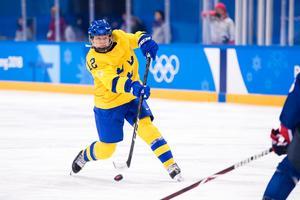 Maja var med och spelade OS i Pyeongchang. Bild: Petter Arvidson / BILDBYRÅN