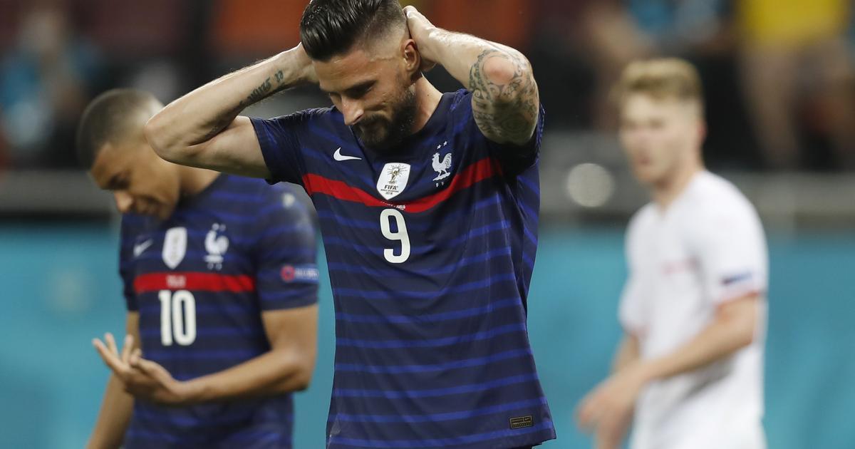Giroud petad i VM-kvalet – Martial ersätter