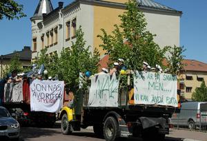 Studentfirande i Falun. Arkivbild/Sylvia Kjellberg.