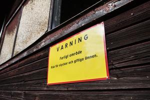 Skogens kols fabriksområde är svårt förorenad av stora mängder arsenik och andra tungmetaller sedan över 100 års kol- och tjäratillverkning.