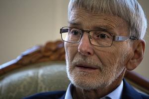 Tord Morin, 79, om ett halvt sekel vid CTH i Borlänge.