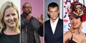 Cristina Stenbeck, Forest Whitaker, Joel Kinnaman och Cardi B är några av talarna under konferensen.