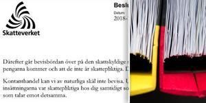 En småföretagare som drev en butik i Sundsvall är misstänkt för bokföringsbrott. Bild: Polisens förundersökning och TT