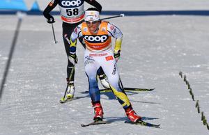 Charlotte Kalla kommer bli jagad av norskor under söndagen.