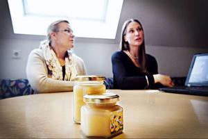 Birgitta Lainio från Brunflo var en av länets biodlare som på söndagen inspirerades av stadsbiodlaren Karolina Lisslö från Stockholm. Birgitta fick nya affäresidéer som hon tänker jobba vidare med.