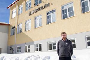 Marcus Persson, rektor på Öjeskolan, har tillsammans med Marie Plomér, rektor på Nybo skola, lämnat in förslaget om ett namnbyte.