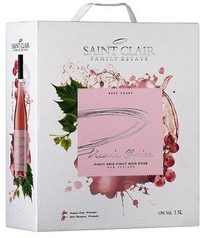 Sint Clair Vicar's Choice Rosé.