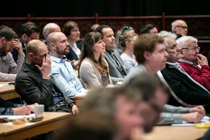 136  personer var på onsdagen inbjudna till seminariet som är startskottet för Dalälvens åtgärdsplan.