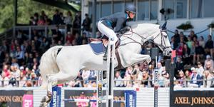 Salafostrade Sissela Smith får ett wild card till 7 stars-finalen i Falsterbo. Foto: Mathilda Ahlberg/Bildbyrån