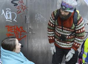 Jonathan Pettersson gör rollen som julälskande Julius.