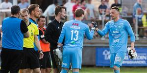 Daniel Svensson fick hoppa in i den andra halvleken när Anton Fagerström skadad sig. Foto: Fredrik Karlsson / BILDBYRÅN
