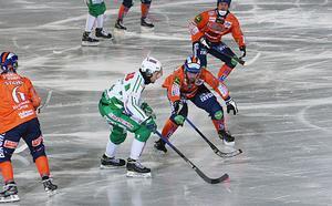 Ville Aaltonen och Bollnäs fick slita hårt för poängen – särskilt när Simon Jansson satte fart.
