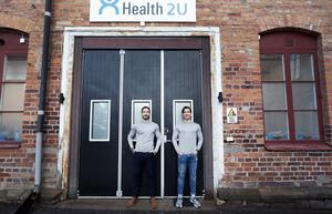I november flyttade Robi och Kevin in i Vävaren med sitt gym. I januari öppnar de för allmänheten. Det finns plats om de vill expandera.
