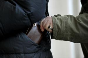 Skribenten varnar för ficktjuvar. Foto: Janerik Henriksson/TT