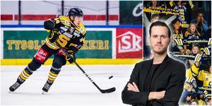 """Adam Wilsby har """"Guldgallret 2020"""" skrivet över sitt spel just nu, skriver LT-sportens krönikör Jacob Sjölin. Foton från Bildbyrån och Mittmedia."""